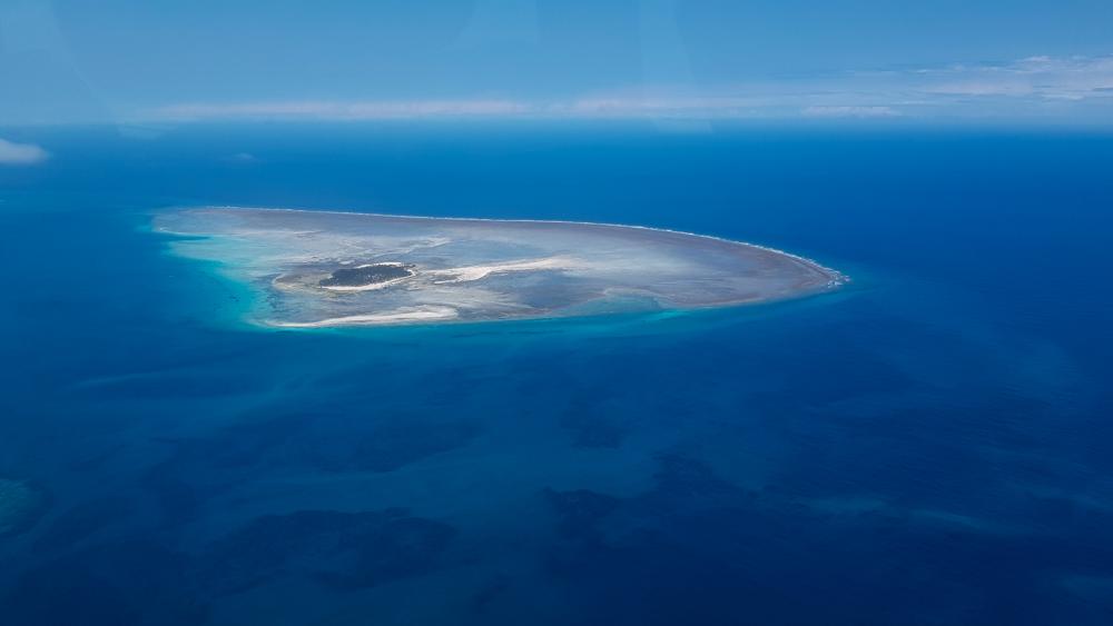 island between Zanzibar and Tanzania